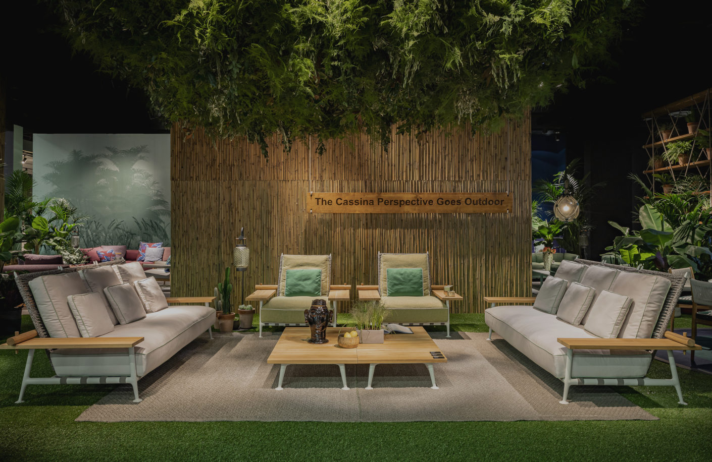 4 CASSINA imm cologne 2020 Fenc e Nature Philippe Starck Cassina Outdoor Collection Stylepark